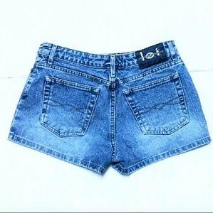 L.E.I. Jeans Shorts - Junior's L.E.I. Jeans Denim Shorts Size 9